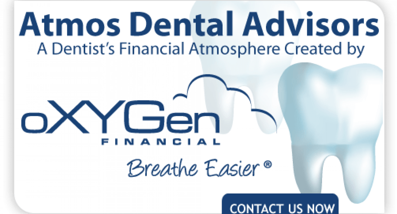 oXYGen Financial Hires Financial Advice Expert For Dentists To Lead Atmos Dental Advisors