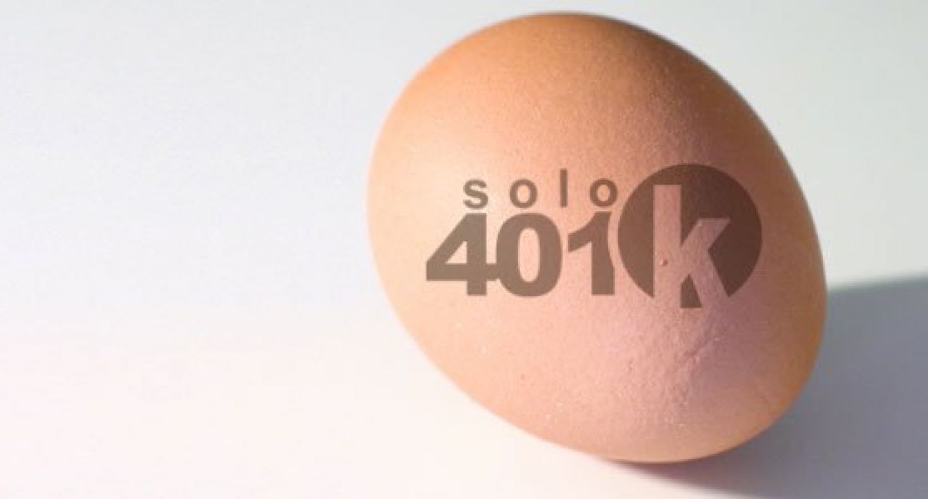 You Are A Sole Proprietor: How About A Solo 401(k)