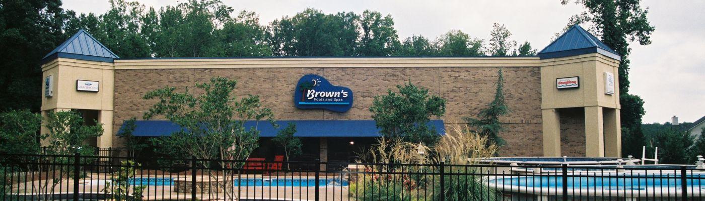 Dallas Store Brown S Pools Spas Inc Metro Atlanta West Georgia S Premier Builder Service Pool Store Brown S Pools Spas Inc Brown S Pools Spas Inc