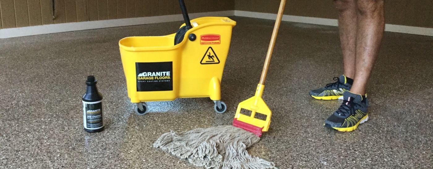 How To Clean Epoxy Flooring Granite Garage Floors Granite