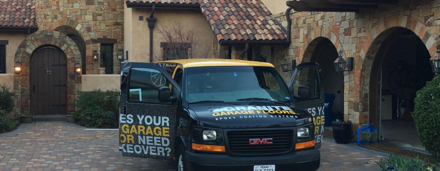 Granite Garage FloorsSouthlake-Dallas