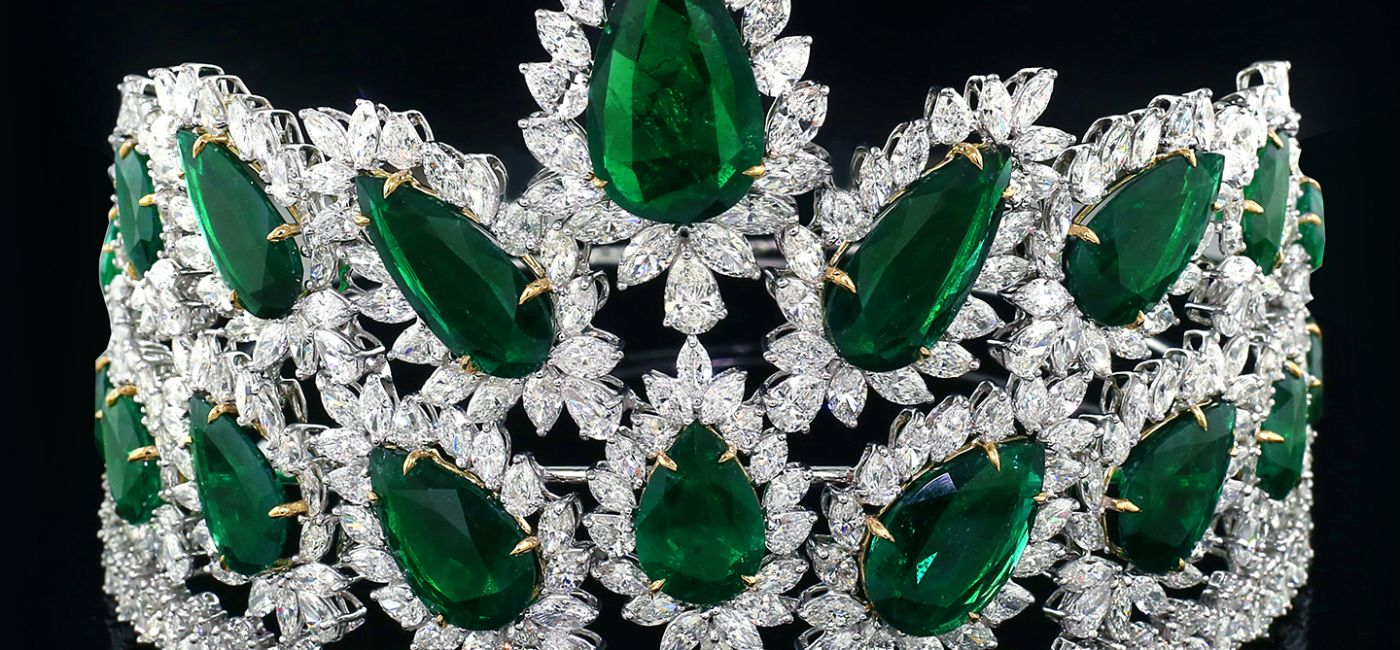 Jacob & Co. Emerald Pageant Crown Is the Most Valuable Ever Made