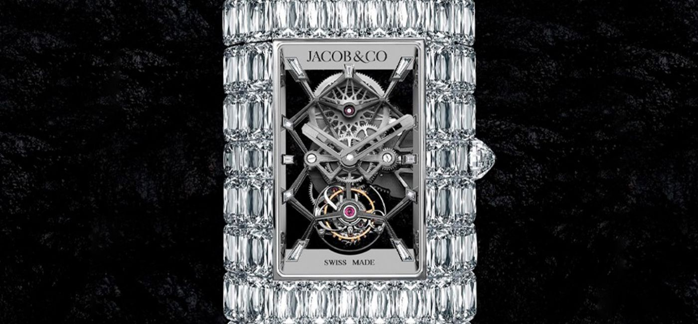 Jacob & Co. Billionaire ASHOKA Watch Features over 189 Carats in Diamonds.