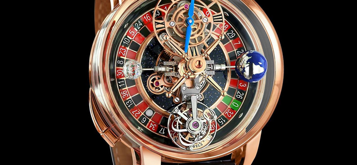 Wrist Check: Drake's Latest Timepiece Features a Working Roulette Wheel