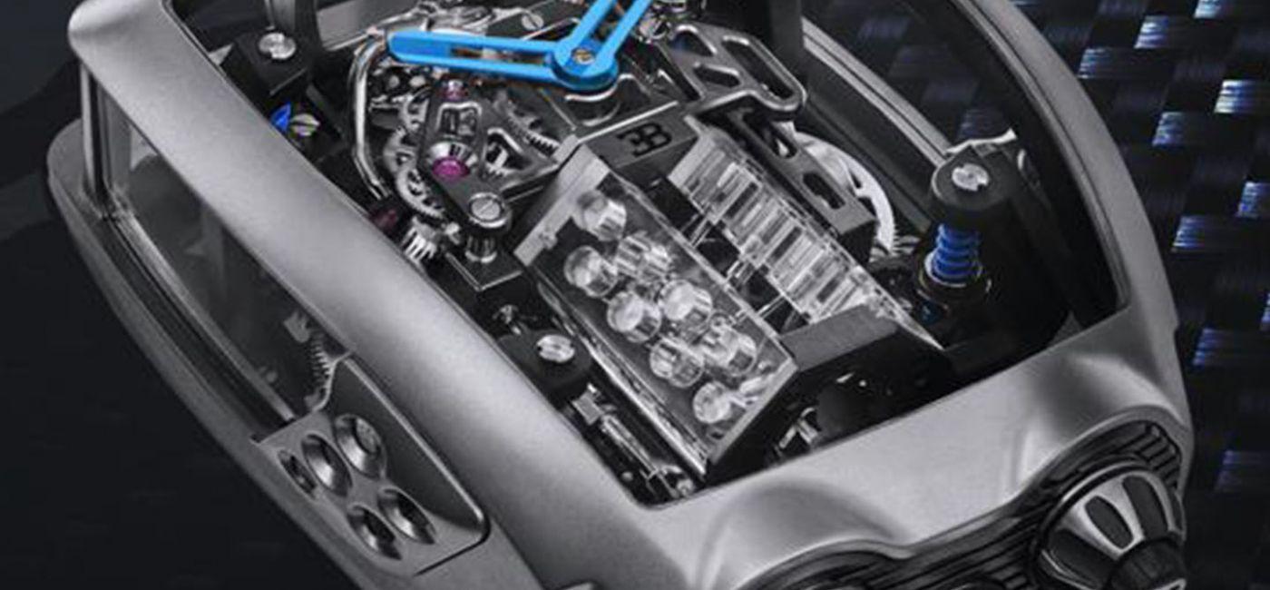 Jacob & Co. Unveils $280,000 Bugatti Chiron 16-Cylinder Tourbillon