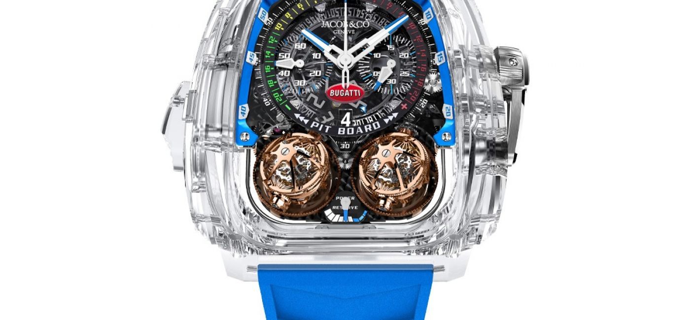 Jacob & Co. Unveils First-Ever Minute Repeater in Sapphire Crystal Case