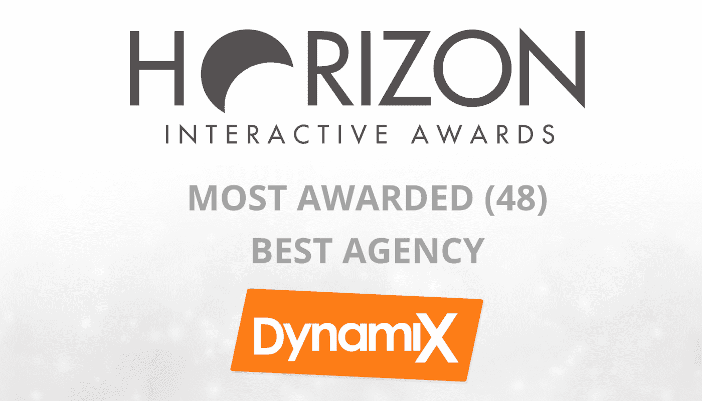 DynamiX Named Best Agency, Most Awarded in Horizon Interactive Awards