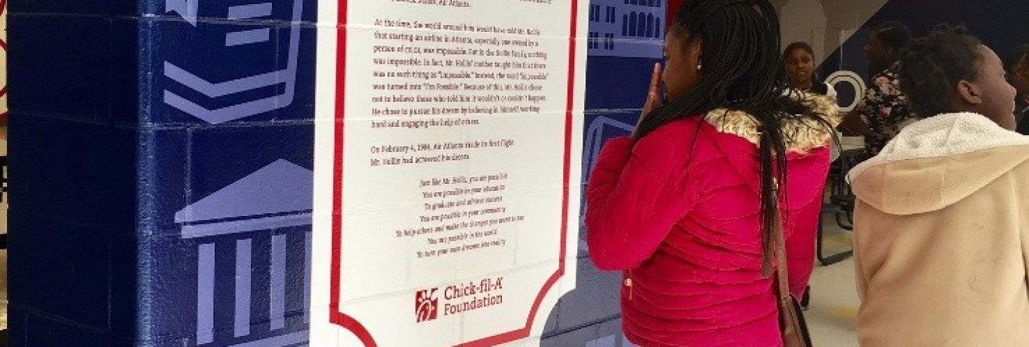 Chick-fil-A Foundation Partners with M.R. Hollis Innovation Academy for Cafeteria Redesign