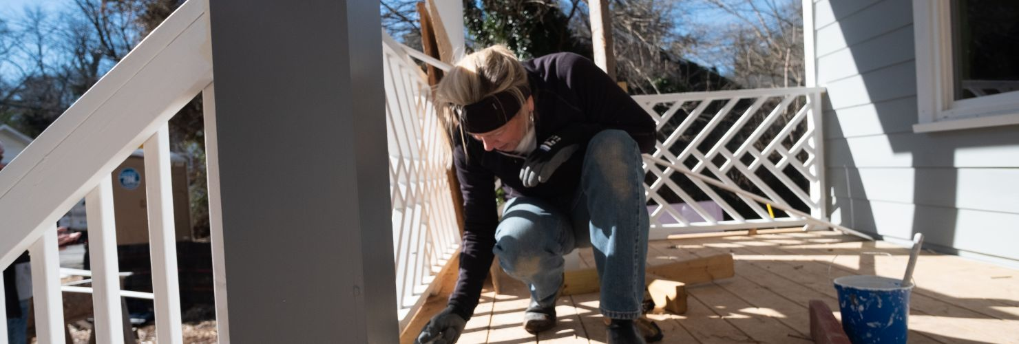 MLK Day: Habitat for Humanity Build