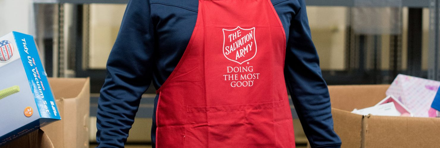 Community Service Day with Salvation Army Angel Tree