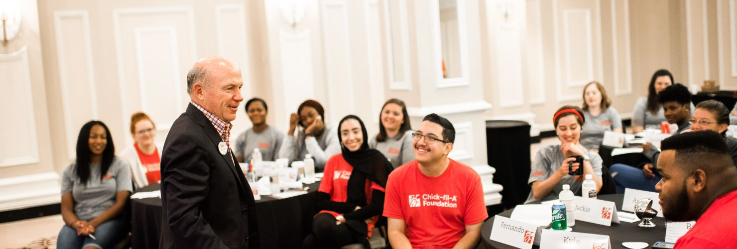 Apply to be a 2019 Chick-fil-A Fellow