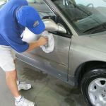 Detailing Service: Waxing & UV Damage Protection