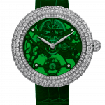 Pager to activate Brilliant Skeleton Northern Lights White Gold Green