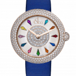 Pager to activate Brilliant Half Pave Rose Gold 38mm