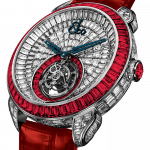 Pager to activate Palatial Opera Flying Tourbillon White Gold Rubies