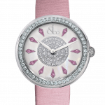 Pager to activate Brilliant One Row Pink Sapphires 38mm
