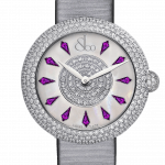 Pager to activate Brilliant Half Pave Amethyst Sapphires 44mm