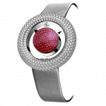 Pager to activate BRILLIANT MYSTERY BAGUETTE PAVE DIAMONDS AND RUBIES (38MM)