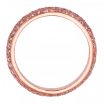 Pager to activate Melange Rose Gold Band
