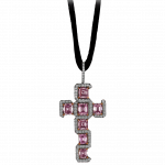 Pager to activate Fancy Intense Pink Diamond Cross