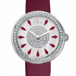 Pager to activate Brilliant One Row Rubies 38mm
