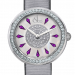 Pager to activate Brilliant One Row Amethyst Sapphires 44mm
