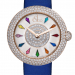 Pager to activate Brilliant Half Pave Rose Gold 44mm