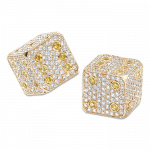 Pager to activate Diamond Dice Yellow Gold
