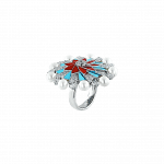 Pager to activate Infinia Pearl, Turquoise and Corals Ring