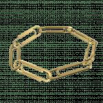 Pager to activate Plain Paper Clip Bracelet