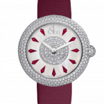 Pager to activate Brilliant Half Pave Rubies 38mm