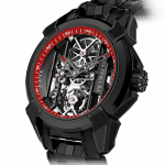 Pager to activate Epic X Black Titanium Bracelet (Red Neoralithe Inner Ring)