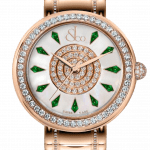 Pager to activate Brilliant One Row Rose Gold Couture Tsavorites 44mm