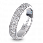 Pager to activate Melange White Gold Band