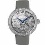 Pager to activate Brilliant Half Pave Case 38mm