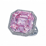 Pager to activate Fancy Intense Purple Pink Diamond Ring
