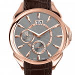 Pager to activate Palatial Classic Manual Big Date Rose Gold