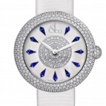 Pager to activate Brilliant Half Pave Blue Sapphires 44mm