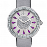 Pager to activate Brilliant One Row Amethyst Sapphires 38mm