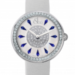 Pager to activate Brilliant One Row Blue Sapphires 38mm