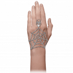 Pager to activate Jacob's Web White Gold Ring Bracelet