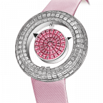 Pager to activate Brilliant Mystery Baguette Partial Pink Sapphire