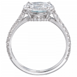 Pager to activate Oval-Cut Diamond Solitaire