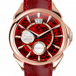 Pager to activate Palatial Classic Manual Big Date Mineral Crystal Dial - Rose Gold