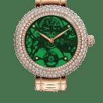 Pager to activate Brilliant Skeleton Northern Lights Green Bracelet