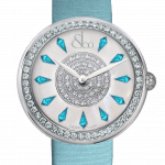 Pager to activate Brilliant One Row Icy Blue Sapphires 44mm