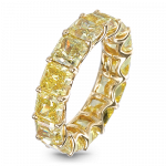 Pager to activate Yellow Diamond Eternity Band