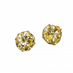 Pager to activate Diamond Stud Earrings