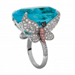 Pager to activate Paraiba Tourmaline Cocktail Ring