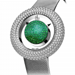Pager to activate Brilliant Mystery Pave Diamonds And Tsavorites (38mm)